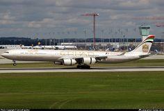 A6-EHF Etihad Airways Airbus A340-642X