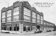Anderson Motor Company via Blake Stough Preserving York blog.