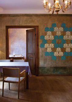 Mosaic wallpaper from ZNAK