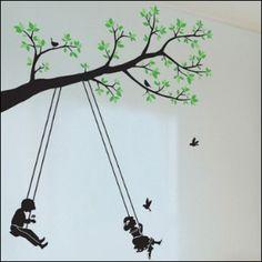 Swinging on a Tree