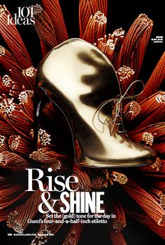 Gucci boot By Kyle Anderson, September Marie Claire