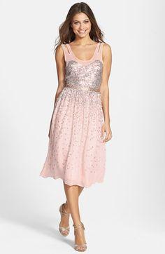 French Connection 'Shimmer Shower' Embellished Dress available at #Nordstrom