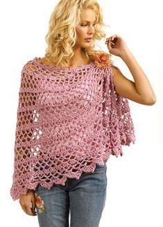 Crochet Shawl By Doris Chan - Free Crochet Pattern - (ravelry)
