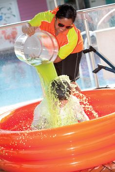 Get slimed on board Norwegian Epic, Jewel or Gem!