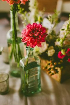 Asheville Mountain Wedding | Photography by Carolyn Scott See more: : http://mountainsidebride.com/2014/02/asheville-mountain-wedding-with-vintage-details