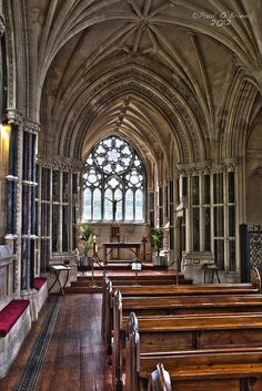 Kylemore Abbey church