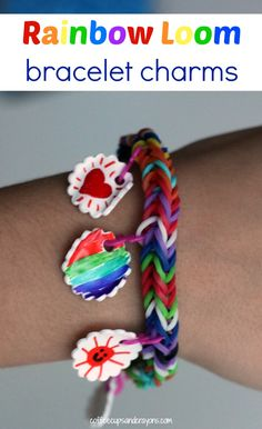How to Make Band Bracelet Charms