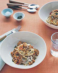 Lentil-Tomato Sauce