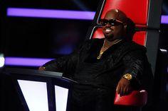 CeeLo with the shades. #TheVoice