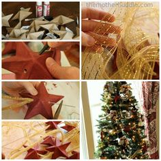 Star Garland Tutorial by @Destri | The Mother Huddle #JustAddMichaels