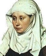 Veils, Wimples and Gorgets - Rosalie's Medieval Woman pages [see Decorative Elements bit for beads]