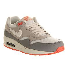 Nike Air Max 1 (l) Sail Mortar Silver - Hers trainers