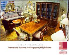 International furniture fair singapore exhibitors for Classic furniture singapore