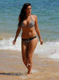 """Katie Green, UK Model. 5""""10, size 12. when she started modelling she was asked to lose 2 stone [28lbs/13KG]. She dieted severely for a couple of weeks, but decided she had had enough, and how she's been the spokesmodel for Wonderbra, appeared in FHM, modelled for Ultimo underwear, and has been voted Number 3 on the 'Best Bodies' list. She has also started a campaign 'Say No To Size Zero' - an idea to ban all size zero models with an unhealthy BMI of 18.5 or below from the catwalks."""