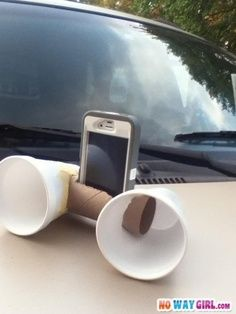 Redneck Speakers! I know a few people that would try this! #genius
