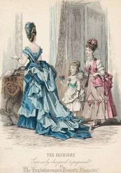 March Fashions #1874 #1870s #VBT #England