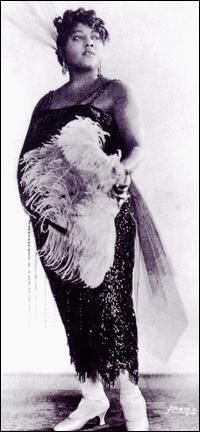 Blues singer, Mamie Smith.