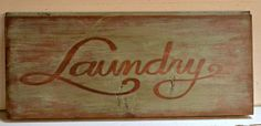wood sign, laundri sign, sign idea, etsi find, homeroad etsi, neat freak, laundri room, rustic sign
