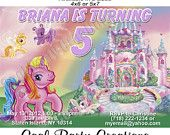 My Little Pony Birthday Invitation - Printable Custom Birthday Invitations