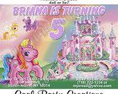 My Little Pony Birthday Invitation - Printable Custom Birthday Invitations