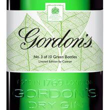 No. 3 of 10 Green Bottles  The delicate intricacy of the three leaves evokes a sense of attention to detail which is at the heart of everything both Gordon's and Conran do.