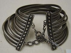 House of Dior metal collar