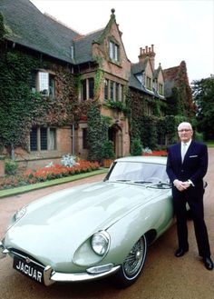 Sir William Lyons. The founder of Jaguar; The car is the closest thing we will ever create to something that is alive #car #history