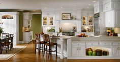 Kraftmaid Bartlett In Maple Dove White Kitchen Cabinets