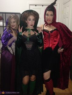 Sanderson Sisters from Hocus Pocus - Group Halloween Costume