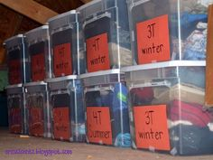 Organizing Kids' Clothes