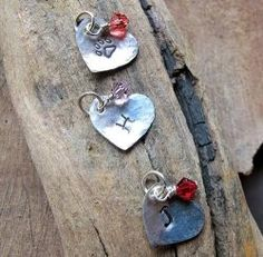 Amazing charms with crystal pendants for personalized jewelry making! You may add a personal touch to any jewelry piece with the charms!    What...