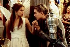 "Leonardo Di Caprio and Claire Danes in 1996's ""Romeo and Juliet"""