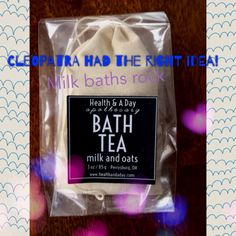 BATH TEA - milk & oats from Health & A Day   Square Market