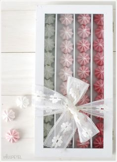 MISSPETEL: Beautiful Macaron Packaging!