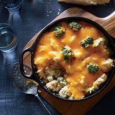 Broccoli-Quinoa Casserole with Chicken and Cheddar | MyRecipes.com