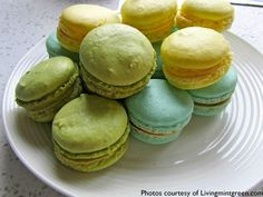 Macarons from Bake Lethbridge.