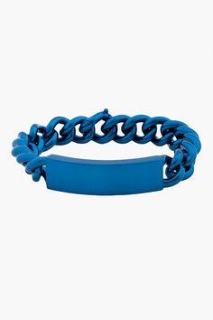MAISON MARTIN MARGIELA //  BLUE BRASS BRACELET