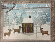 Celebrate the Season www.stampingwithlinda.com Make sure to check out my Stamp of the Month Kit Linda Bauwin – CARD-iologist  Helping you create cards from the heart.