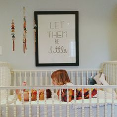 let them be little....love this print