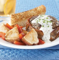 Grill a few Seasoned Sirloin Fillets and round out your Valentine's Day meal with a few roasted vegetables and a loaf of warm garlic bread. Simple and delicious.