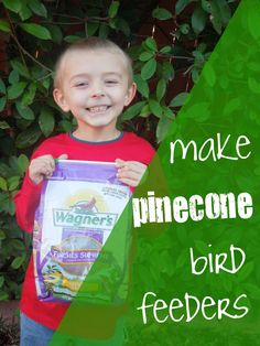 "Pennies of Time: ""Penny of Time"" Adventure: Bird Feeding Pinecones.  Birds are making their way back through our area and it is a great time to make birdfeeders.  We love using this one.  Teach children to serve."