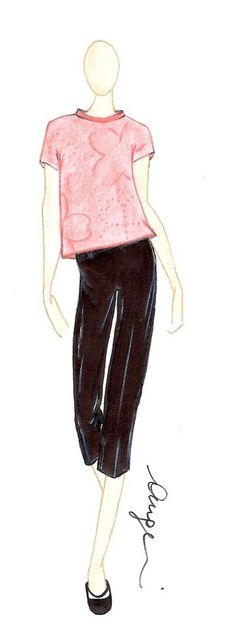 Spring/Summer 2013 by Cristina Angelini www.maisonacademia.com | Fashion Sketches