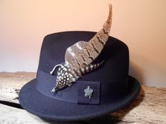 The DOWNTON ABBEY FEDORA Collection.Tie Fly Boutonniere by TieFly