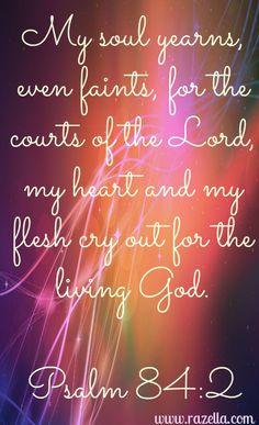 Psalm 84:2