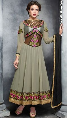 anarkali suit by Bri