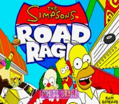simpsons road rage - Google Search