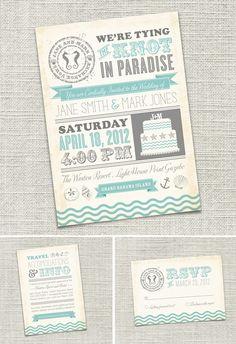 Love the colors!.... But destination wedding invites for @Sloane Bartsoff Bartsoff holiman