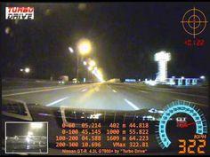 Nissan GT-R 4.3L GT800+ 327km/h (203mph) CRASH