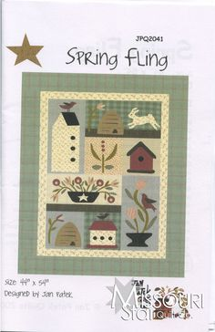 Spring Fling Pattern from Missouri Star Quilt Co