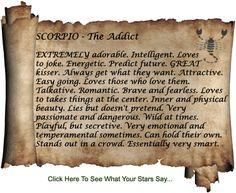 #Scorpio #TheAddict
